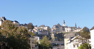 Luxemburg-Panorama Stockfotos