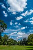 Luxemburg parken Stockbild