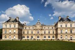 Luxemburg slott i Paris, Frankrike Fotografering för Bildbyråer