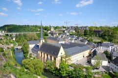 Luxemburg am Sommer Lizenzfreie Stockbilder