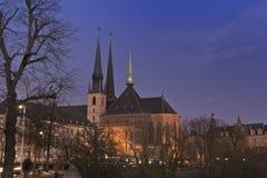 Luxemburg-Stadt Stockbild