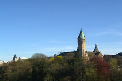 Luxemburg-Stadtzentrum Lizenzfreies Stockfoto