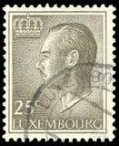 Luxemburg, Kings, Grand Duke Jean. Luxemburg - stamp printed in1966, Heads of State, Kings, Grand Duke Jean Royalty Free Stock Photography