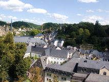Luxemburg, street. Travel to Europe, Luxemburg, street Royalty Free Stock Images