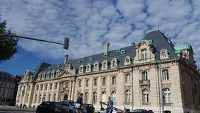 Luxemburg. A very beautiful building in the City of Luxemburg Stock Photos