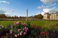 Luxemburgo cultiva un huerto Imagen de archivo