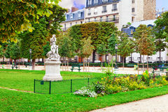 Luxemburgo cultiva un huerto (Jardin du Luxemburgo) Fotografía de archivo