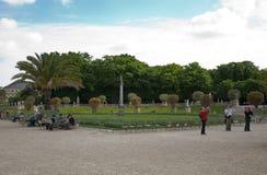 Luxemburgo cultiva un huerto (Jardin du Luxemburgo) en París, Francia fotografía de archivo libre de regalías