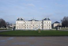 Luxemburgo cultivan un huerto y la opinión del palacio Imagen de archivo