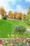 Luxemburgo jardina (Jardin du Luxemburgo) Fotografia de Stock Royalty Free
