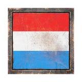 Luxemburgo velho embandeira Foto de Stock