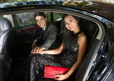 Luxepaar Royalty-vrije Stock Fotografie