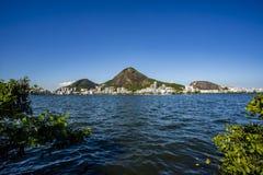 Luxeplaats van de lagune Ontdek de schoonheid van lan stock afbeeldingen