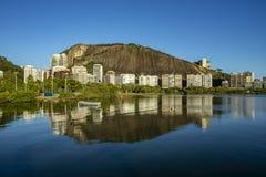 Luxeplaats van de lagune Ontdek de schoonheid van lan royalty-vrije stock afbeelding
