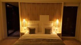 Luxery旅馆客房 库存图片