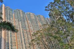 A luxery Residential district in Hang Hau. The luxery Residential district in Hang Hau Stock Photos