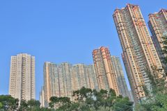 A luxery Residential district in Hang Hau. The luxery Residential district in Hang Hau Stock Image