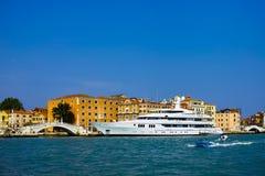 Luxery yacht Stock Image