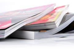 Luxetijdschrift op glanzend papier Stock Foto