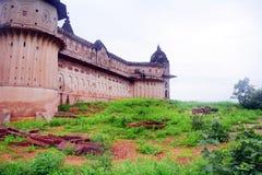 Luxmi寺庙奥拉奇哈印度 免版税库存照片