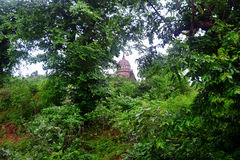 LUXMI寺庙奥拉奇哈 库存照片