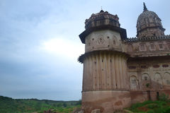 LUXMI TEMPLE ORCHHA Royalty Free Stock Images