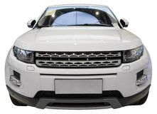 Luxo SUV fotografia de stock royalty free