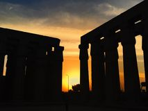 Luxor, Ägypten stockfoto