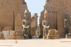 Luxor świątynia - Egipt zdjęcie stock