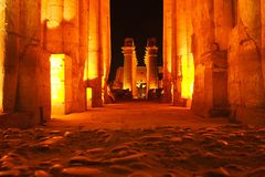 luxor της Αιγύπτου Στοκ φωτογραφία με δικαίωμα ελεύθερης χρήσης