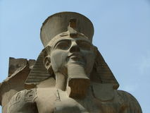 Luxor. Temple in egypt Royalty Free Stock Photography