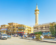 The Luxor cityscape Royalty Free Stock Photos