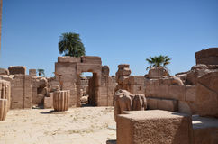 Luxor. Egipet.Ruiny temple. Royalty Free Stock Image