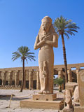 Luxor, Egypt, Rameses II Statue Royalty Free Stock Photo