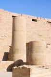 luxor för kolonnegypt karnak tempel Royaltyfri Fotografi
