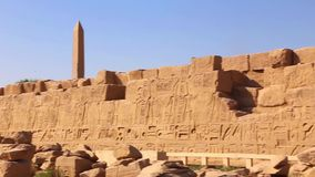 Luxor-Grab vollen HD Video am Nacht stock video footage