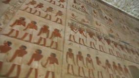 Luxor grav på den fulla HD videoen för natt stock video