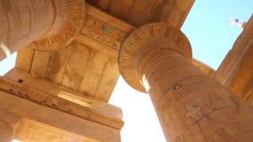 Luxor grav på den fulla HD videoen för natt arkivfilmer