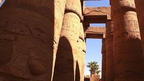 Luxor grav på den fulla HD videoen för natt lager videofilmer