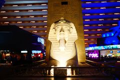 Luxor-Hotel & Casino 38 royalty-vrije stock afbeelding