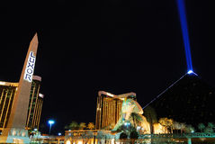 Luxor Hotel Casino, Las Vegas Stock Photography