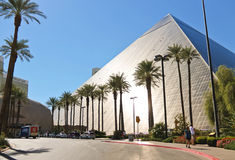 Luxor Hotel and Casino in Las Vegas. Royalty Free Stock Image