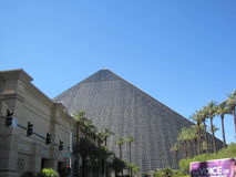 Luxor hotel and casino in Las Vegas Stock Photography