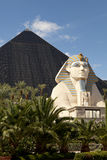 Luxor Hotel and Casino in Las Vegas, Nevada Stock Photo