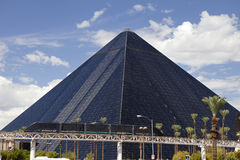 Luxor Hotel and Casino in Las Vegas, Nevada Stock Photography