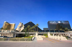 Luxor hotel and casino in Las Vegas, Nevada Royalty Free Stock Photos