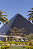 Luxor hotel in day time in Las Vegas, NV on April 19, 2013 Royalty Free Stock Image