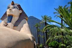 Luxor-Hotel in Las Vegas Stockbild