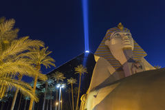 Luxor Hotel in Las Vegas, NV on May 31, 2013 Stock Image