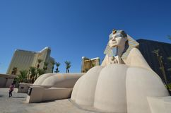 Luxor Hotel, sculpture, landmark, statue, monument. Luxor Hotel is sculpture, monument and architecture. That marvel has landmark, sky and sand and that beauty stock images
